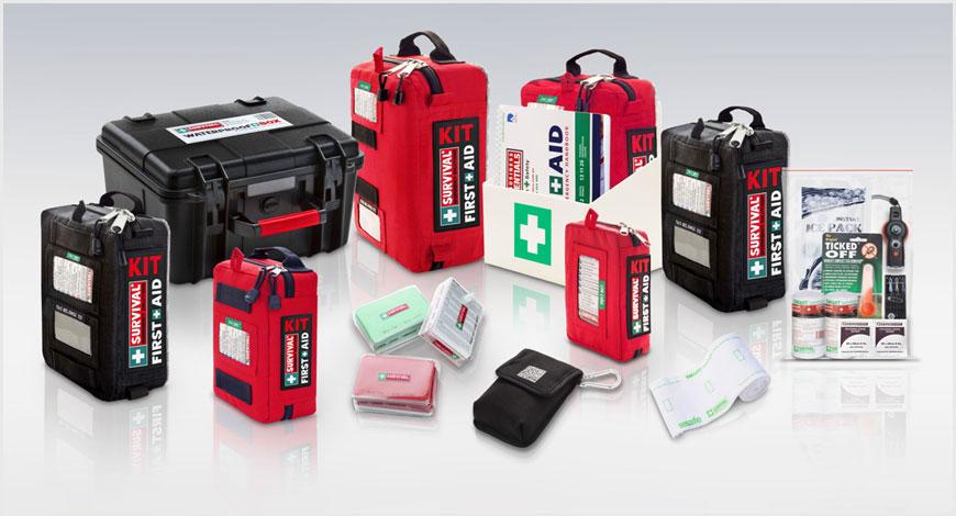 Survival First Aid Kit Range